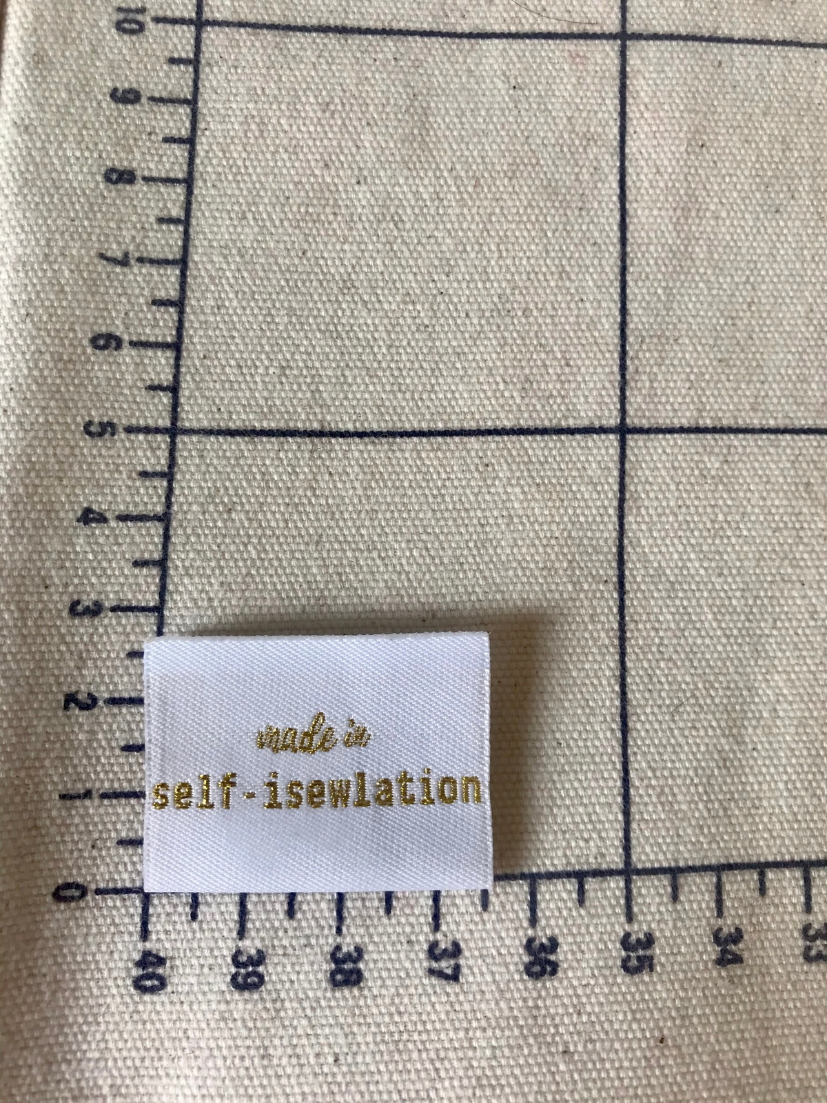 Made in self-isewlation : sewing forgood