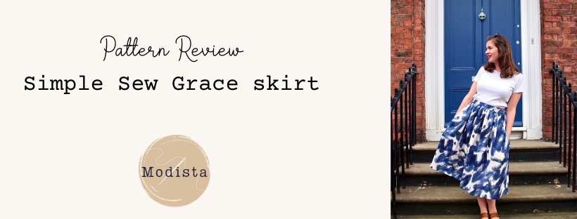 A perfect 'simple sew'; the Grace Skirt
