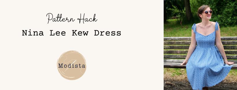 Sewing a Kew dresshack