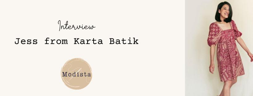 Interview with Jessica Novianti from KartaBatik
